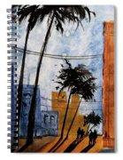 Walking Home, Watercolor Spiral Notebook