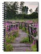 Walking In Magic... Spiral Notebook