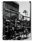 Walking In Seville - Spain Spiral Notebook