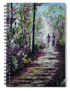 Walking In The Light Spiral Notebook