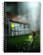 Walking On Magic Spiral Notebook
