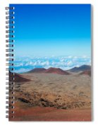 Walking On The Moon Spiral Notebook