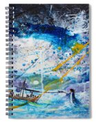 Walking On The Water Spiral Notebook