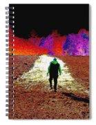 Walking Rocky's Field Spiral Notebook