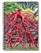 Walking Roots Sculpture 2 Spiral Notebook