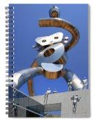 Walking Tall Path Spiral Notebook