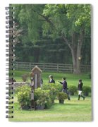 Walking The Course Spiral Notebook