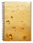 Walking The Dog Spiral Notebook