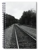 Walking The Line Spiral Notebook