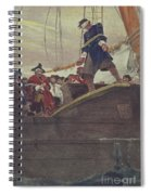 Walking The Plank Spiral Notebook