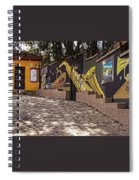 Walking The Streets Of Santa Lucia - 1 Spiral Notebook