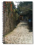 Walking The Streets Of Santa Lucia - 2 Spiral Notebook