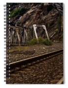 Walking The Tracks Spiral Notebook