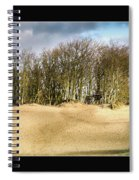 Walking To The Trees Spiral Notebook
