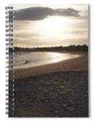 Walking Toward The Sunset Spiral Notebook