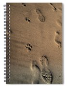 Walking With My Dog Spiral Notebook
