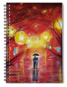 Walking With My Love Spiral Notebook