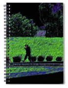 Walking With Purpose Spiral Notebook