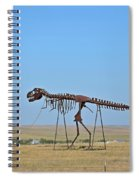 Walking Your T-rex Spiral Notebook