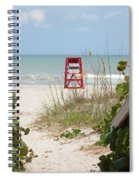 Walkway To The Beach Spiral Notebook