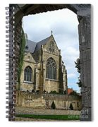 Walkway To Thorn Cathedral Spiral Notebook