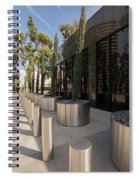 Walkway With Reflection Spiral Notebook
