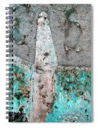 Wall Abstract 118 Spiral Notebook