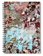 Wall Abstract 128 Spiral Notebook