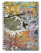 Wall Abstract 196 Spiral Notebook