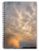 Wall Cloud Spiral Notebook