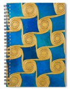 Wall Decoration From The Temple Of Amun At Malqata Spiral Notebook