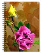 Wall Flowers Spiral Notebook