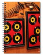 Wall Of Records Spiral Notebook