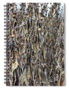 Wall Of Weeds - 2 Spiral Notebook