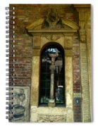 Wall Shrine Spiral Notebook