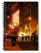 Wall Street Evening Spiral Notebook