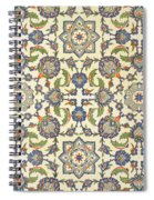 Wall Tiles Of Qasr Rodouan Spiral Notebook