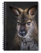 Wallaby Portrait Spiral Notebook