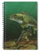 Walleye Spiral Notebook