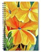 Wallflower Spiral Notebook