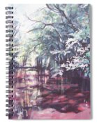 Wall's Bridge Reflections Spiral Notebook