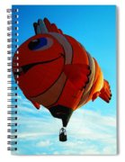 Wally The Clownfish Spiral Notebook