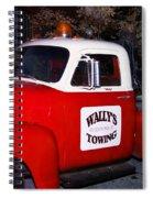 Wallys Service Truck Spiral Notebook