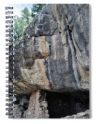 Walnut Canyon National Monument Portrait Spiral Notebook