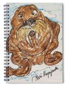 Walrus  Spiral Notebook