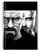 Walt And Jesse Spiral Notebook