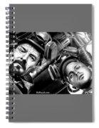 Walt And Jesse Super Lab Spiral Notebook