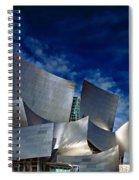 Walt Disney Concert Hall Spiral Notebook