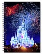 Walt Disney World Fireworks  Spiral Notebook
