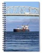 Walter J. Mccarthy And Blue Water Bridge 112917 Spiral Notebook
